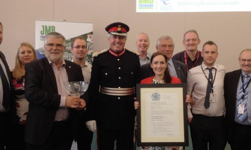 JMB Receives Queens Award During 10th Anniversary Celebrations.